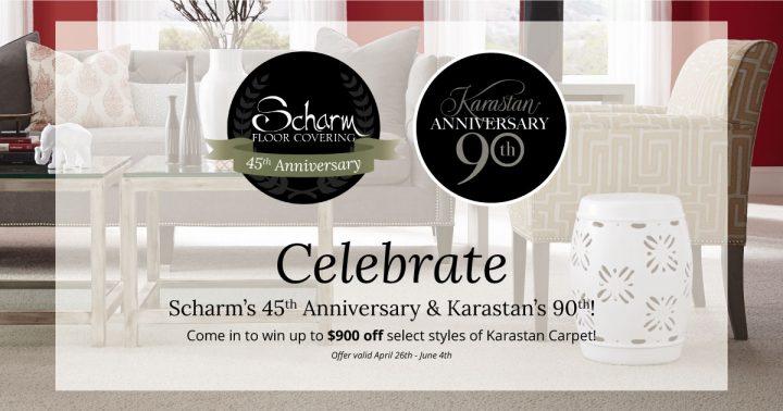 scharm floor covering anniversary sale