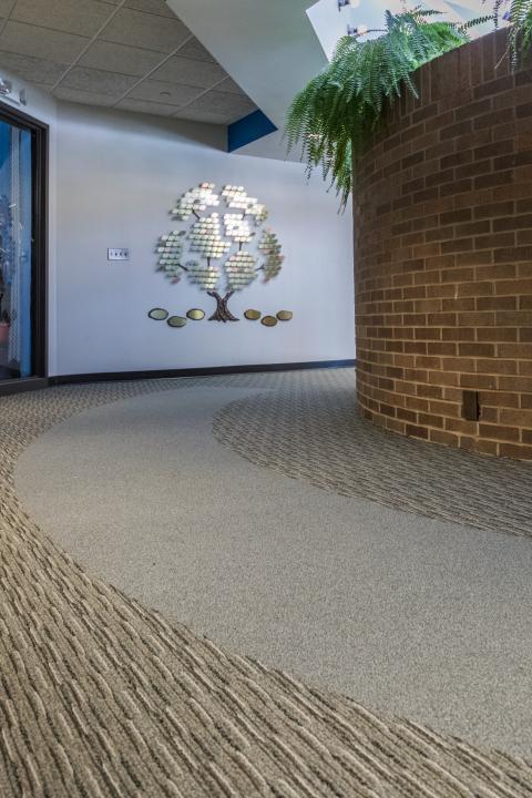 commercial flooring job wheeling