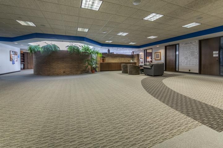 wheeling carpet installation job