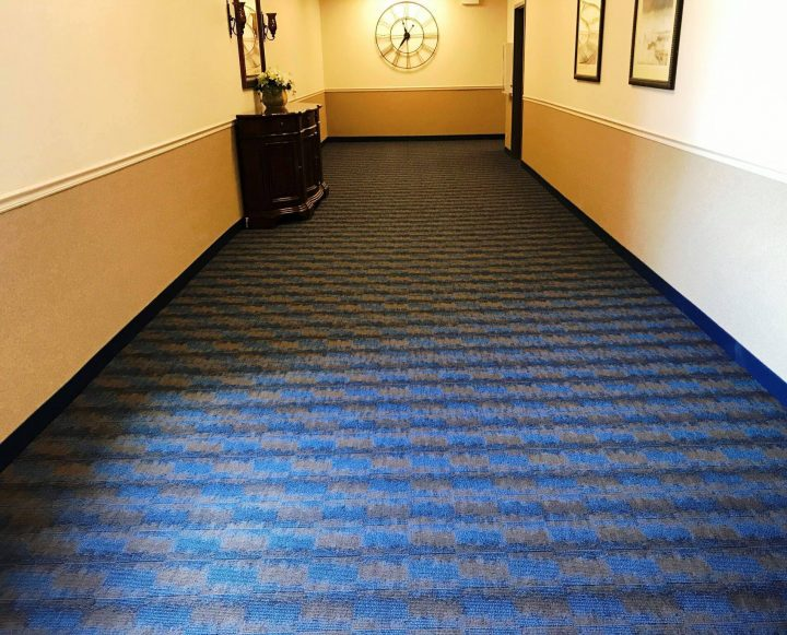 carpet installation wheeling