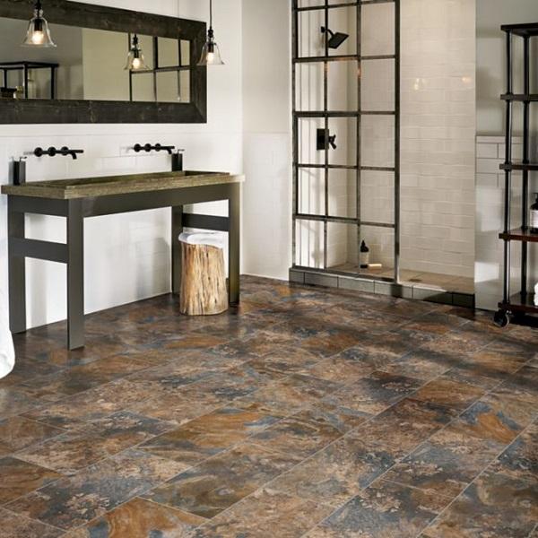 Bathroom Flooring Trends for 2021 scharm floor covering